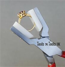"""Nylon Jaws Ring Holding Pliers Parallel Type Jaws Jewellery Rings Crafts 5-5/8"""""""