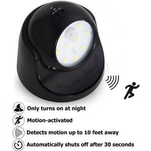 9 LED Bewegung Aktiviert Schnurlose Sensor Wandleuchte Hausgarten Terrasse Lampe