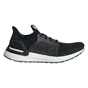 Adidas-UltraBOOST-19-Men-039-s-Running-Sneakers-G54009-Black-White-NEW