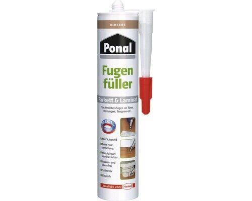 Ponal Fugenfüller für Parkett & Laminat - Kirsche - 280 ml Kartusche