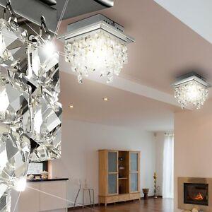 Led 5 watt decken leuchte esszimmer beleuchtung chrom glas for Esszimmer leuchte kristall