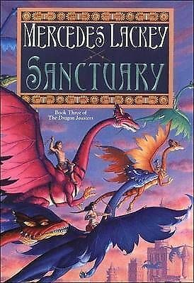 1 of 1 - DAW book collectors: Sanctuary by Mercedes Lackey (Hardback)