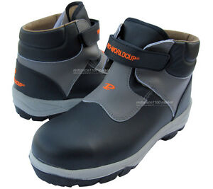 New Men Safety Work Boots Steel Toe Cap Ventilation Navy color ...