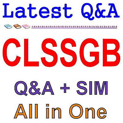 GAQM Certified Lean Six Sigma Black Belt  CLSSBB Exam Q/&A PDF+SIM
