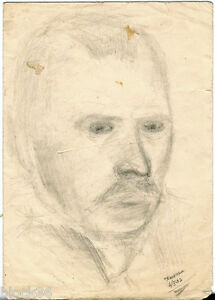 1937-MAN-034-S-PORTRAIT-signed-by-Russian-artist