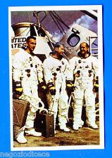MISSIONE SPAZIO - Bieffe 1969 - Figurina-Sticker n. 152 - EQUIPAGGIO APOLLO -Rec