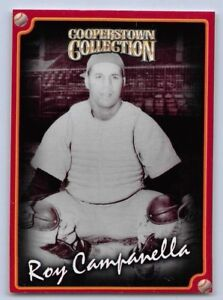"1998  ROY CAMPANELLA - Starting Lineup Card - ""COOPERSTOWN"" - BROOKLYN DODGERS"
