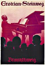 Art Ad Grotrian Steinweg Pianos Piano  Deco Poster Print