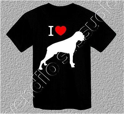 Amo Mamma cani di T-shirt Grande W4Y4 Y3Y6