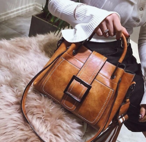 Women-Vintage-Handbag-Shoulder-Bags-Tote-Leather-Boho-Crossbody-Purse-Satchel