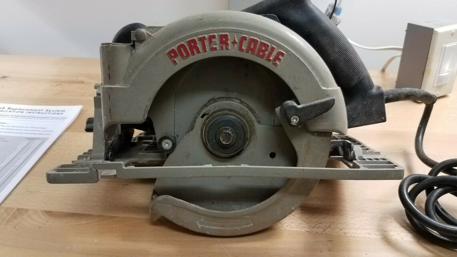 Porter Cable 743 7 1 4 Heavy Duty Left Hand Circular Saw For Sale Online