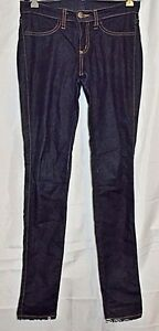 Kancan-Jeans-Skinny-Stretch-Dark-Blue-Wash-Pants-size-1