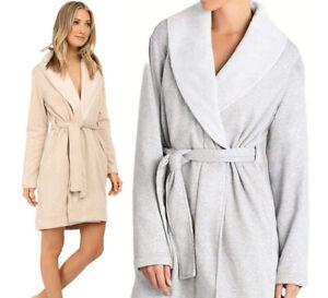 UGG-Australia-Blanche-Robe-Shawl-Collar-Plush-Spa