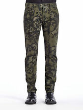 DIESEL BLACK GOLD TYPE-241 CAMOUFLAGE PRINTED JEANS W31 100% AUTHENTIC