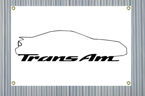 Trans-Am Garage Banner 24x36