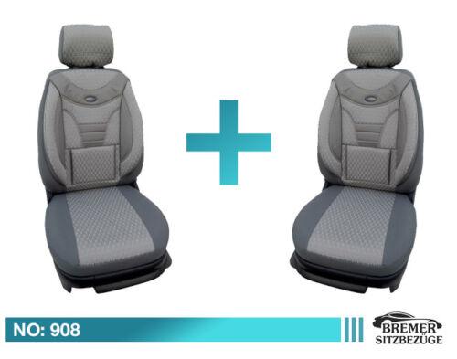 BMW 2er F22 F23 F45 F46 Schonbezüge Sitzbezüge Fahrer /& Beifahrer 908