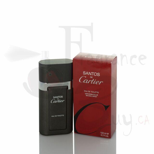 Cartier Santos De Cartier M 100Ml Boxed