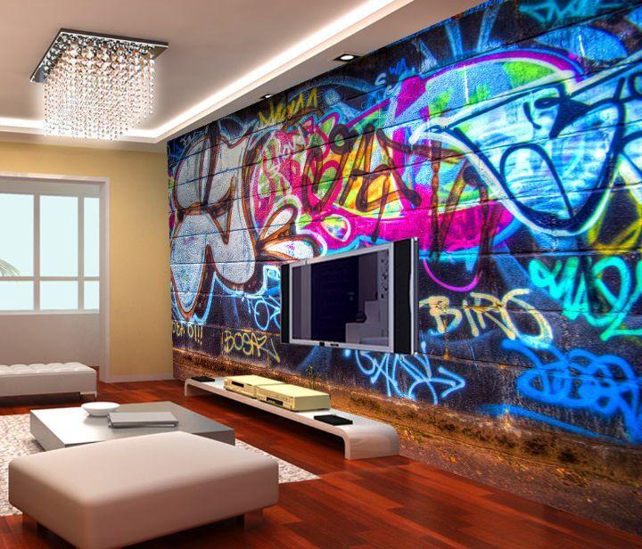 3D Schreiben Graffiti 3656 Fototapeten Wandbild Fototapete BildTapete Familie DE
