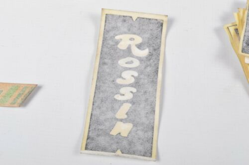 Rossin Bicycle Decals Vintage Road Bike Stickers For Rossin Frames