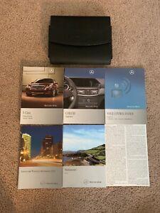 2011 Mercedes-Benz E-Class E350 E550 4MATIC BlueTEC E63 AMG Owner/'s Manual Set