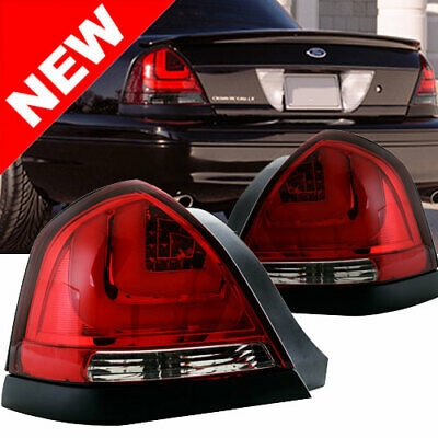 Ford Crown Victoria Red 3D Taillights 98 99 00 01 02 03 04 05 06 07 08 09 10 11