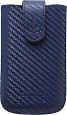 COMMANDER Tasche Elegance für HTC Sensation CARBON Size L blau Etui Hülle Case