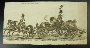 Armee-Napoleonic-Battalion-of-D-Train-Artillery-of-Line-c1800-Militaria