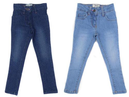 Girls Penguin Jeans Super Skinny Straight Leg Pale or Dark Blue Denim 3 to 7yrs