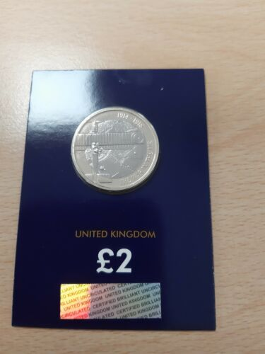 2017 Aviation WW1 £2 Two Pounds Brilliant Uncirculated BUNC BU Coin