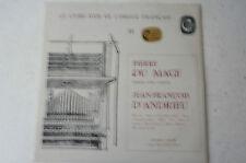 Le Livre d'Or de l'Orgue Francais Pierre du Mage Jean-Francois d'Andrieu (LP18)