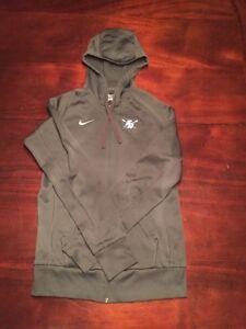 Usd Rowing University Of San Diego Nike Gray Mens Medium Zip Hoodie