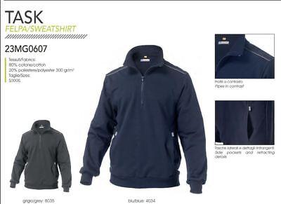 2019 Nuovo Stile Felpa Pesante Mezza Zip Task Uomo Lavoro Siggi Workwear Jacket Man Con Il Miglior Servizio