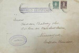 O) 1927 ARGENTINA, JOSE DE SAN MARTIN SCOTT A104- 10c GREEN- 2c DARK BROWN, IMPR