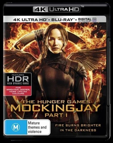 1 of 1 - The Hunger Games Mockingjay Part 1 (Blu-ray Only, No UV) Action Adventure Sci-Fi
