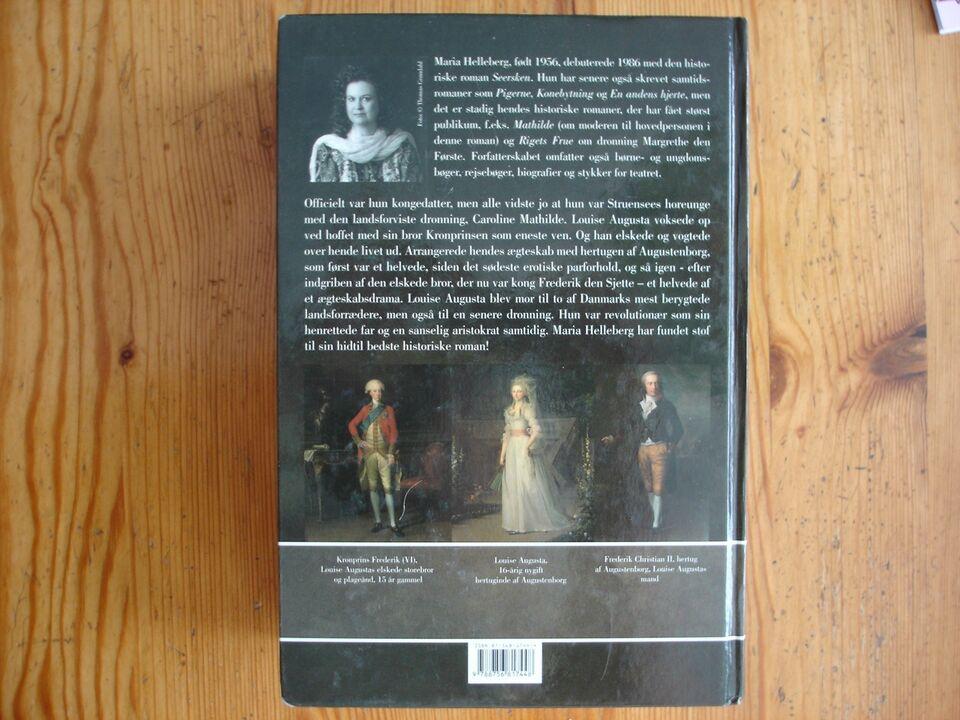 Kærlighedsbarn, Maria Helleberg, genre: roman