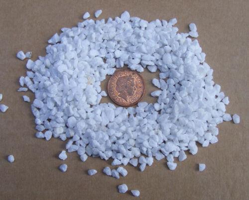 Paquete 50g pequeño blanco rocas piedras tumdee casa de muñecas en miniatura accesorios 50i