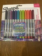 Sharpie Permanent Markers Ultra Fine Point Cosmic Color Limited Edition 12 Count
