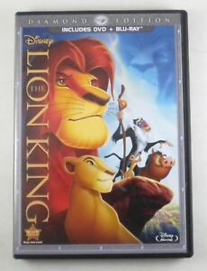 The Lion King Dvd Blu Ray Diamond Edition Disney Ebay
