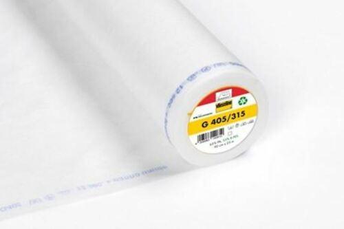 *NEW* Vlieseline Fusible Interfacing White G405//315 Medium
