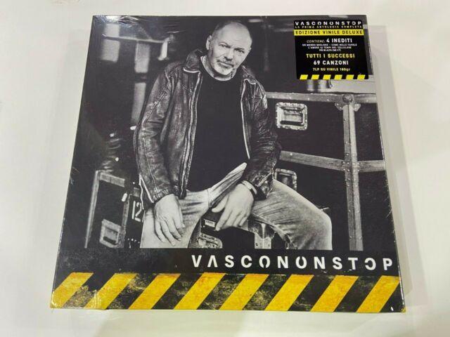 LP VASCO ROSSI VASCONONSTOP BOX 7 LP  NUOVO SIGILLATO SPEDIZIONE RACCOMANDATA
