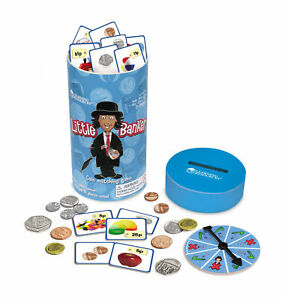 Learning-Resources-Little-Banker-Children-039-s-Money-Coin-Matching-Maths-Game