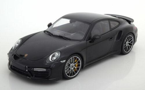 Turbo S Coupe 2016 black 991 ll 1:18 Minichamps Porsche 911
