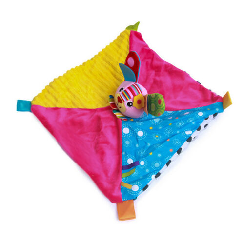 Personalised Baby Comforter Toys Security Blanket Animal Blanket for Gift