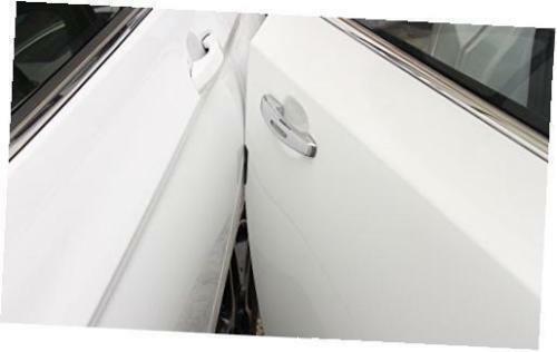 4PCS TRD Black Rubber Car Side Door Edge Strip Scratch Protector Guard Sticker