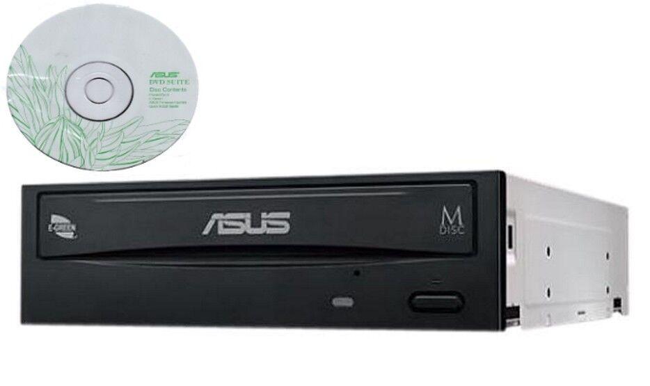 Asus Internal desktop SATA 24x DVD RW CD DL MDisc Burner Wri