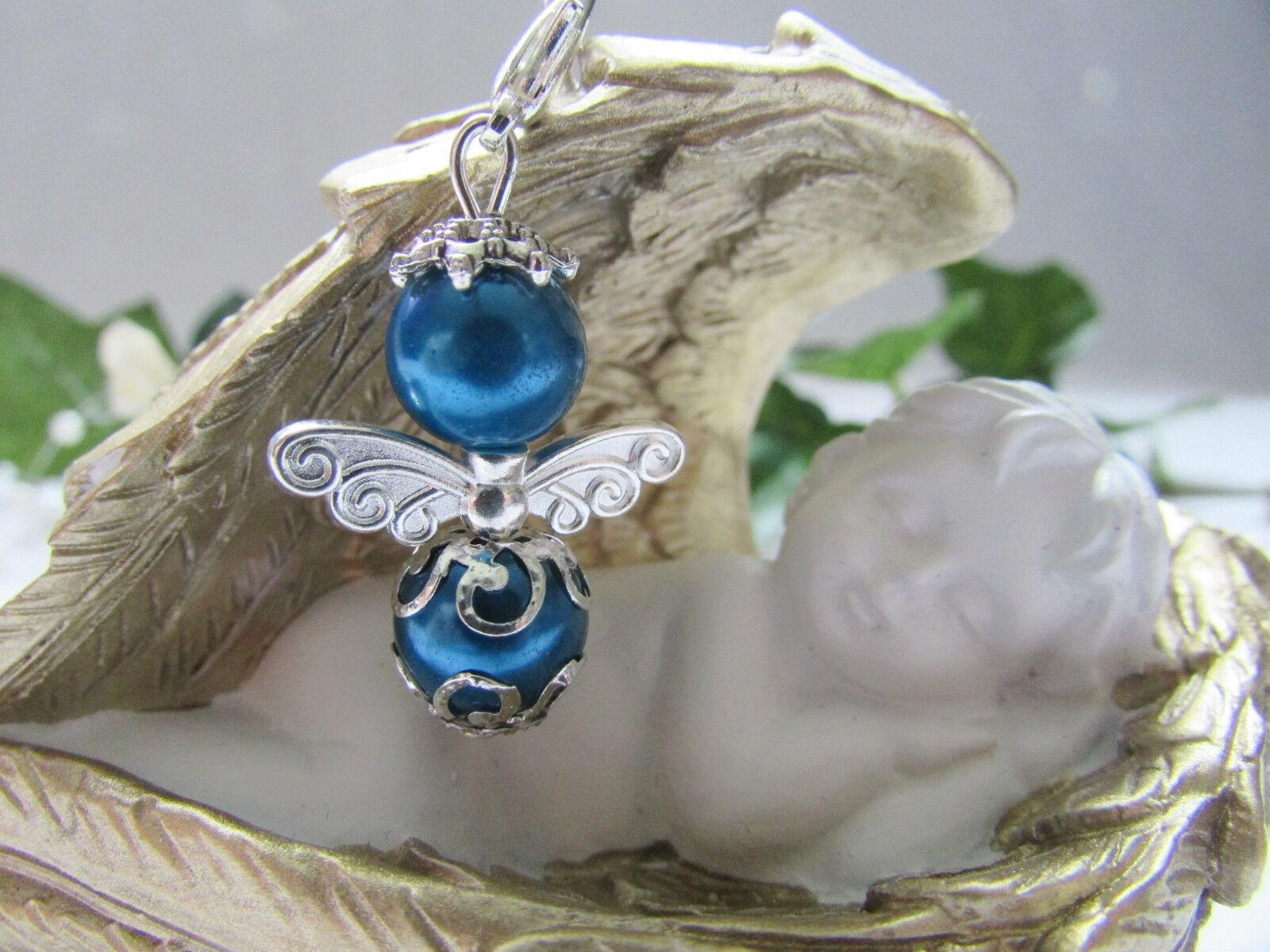10-100 Blaue Schutzengel,Gastgeschenk,Taufe,Hochzeit ,Kommunion ,Geburt Neu