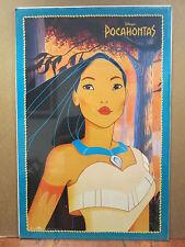 vintage Walt Disney original Pocahontas movie poster  10824