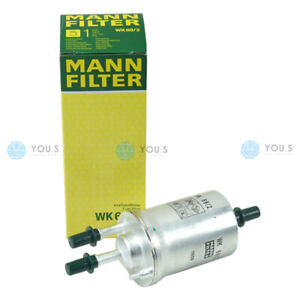 Pair Mann AC133015 Fuel Filter for VW Beetle