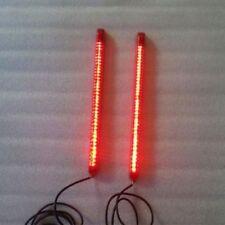 Dual 12″ LED Light Strips Rear Fender - Blinkers, Brake & Running Lights Baggers
