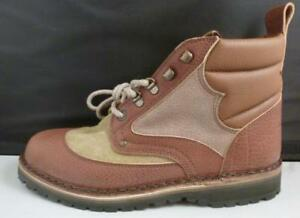 wholesale dealer ad634 9f457 Details about NEW J.L. Powell Crispi Hunting Hiking Work Boots Stanley  Brown Beige 9.5 9 1/2
